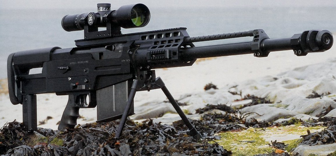 Rifle Sniper Semi-Automático AS-50 / Calibre .50
