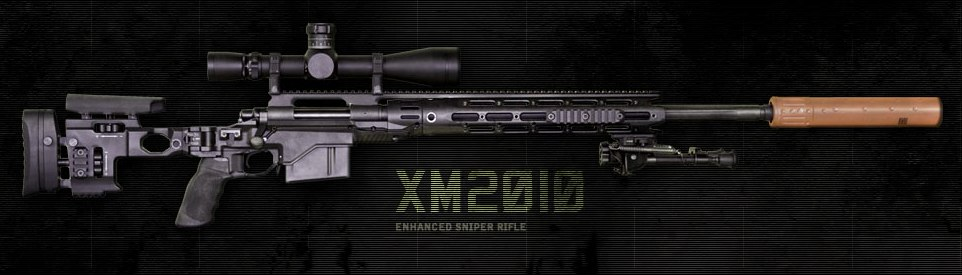 Снайперская винтовка XM2010 Enhanced Sniper Rifle